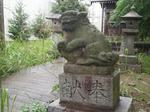 東峰狛犬親子.JPG